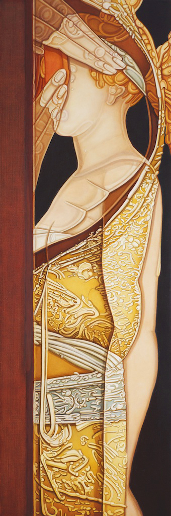 Figure in Gold with Hands, 2010